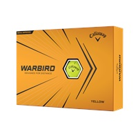 Callaway Warbird 2021 Golf Balls Yellow