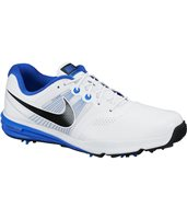 Nike Golf Lunar Command Golf Shoes White Black Blue