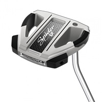 TaylorMade Spider EX Platinum/White Single Bend Putter Right Hand