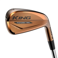 Cobra King Forged TEC Copper Steel Shaft Irons Mens Right Hand