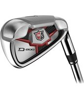 Wilson D200 Steel Irons Left Hand