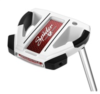 TaylorMade Spider EX 3 Short Slant Ghost White Putter - Custom Fit