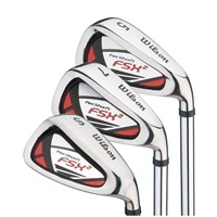 Wilson FSX 2 Fat Shaft Irons Steel RH