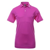 FootJoy Stretch Pique Solid Golf Polo Shirt Mulberry