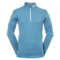 FootJoy Tonal Heather Chill Out Golf Pullover Storm Blue