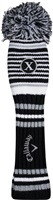 Callaway 2020 Pom Pom Golf Headcover Hybrid - Black/White/Grey
