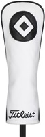 Titleist Leather Headcover Fairway - White/Black