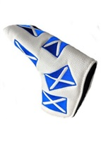 Masters HeadKase Traditional Putter Cover - Scotland