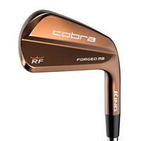 Cobra RF Forged Iron Set Steel Shaft Mens Right Hand
