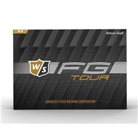 Wilson FG Tour Golf Balls White