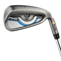 Ping G Max Steel 8 Iron Set Green Dot 5L Gold Grip RH