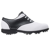 FootJoy WoAQL Golf Shoes - White/Black