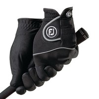 FootJoy Ladies RainGrip Golf Glove (1 Pair) Black