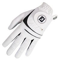 FootJoy Ladies WeatherSof Glove White Left Hand