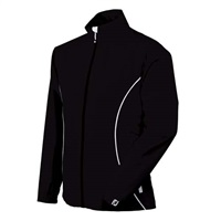 FootJoy Ladies HydroLite Rain Jacket Black/White