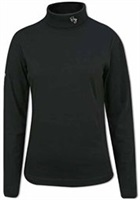 Ping Maple Rollneck Top-Black