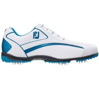 FootJoy Hydrolite Golf Shoes White Electric Blue 50051