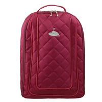 Golf 2 Golf Raspberry Quilted Shoe Bag