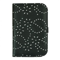 Golf 2 Golf Black Glitter Flower Scorecard Holder