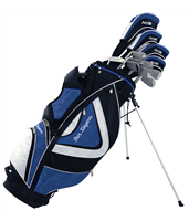Ben Sayers M15 Package Set Blue Stand Bag Graph/Steel RH