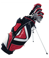Ben Sayers M15 Package Set Red Stand Bag Graph/Steel RH