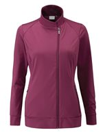 Ping Collection Maya Full Zip Top Cranberry
