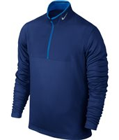 Nike Golf Dri-Fit 1/2 Zip Top Deep Royal Blue