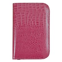 Surprize Shop Raspberry Croc Effect Scorecard Holder