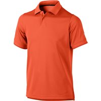Nike Golf Junior Radar Golf Polo Orange