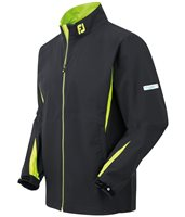 FootJoy Hydrolite Rain Jacket Black with Lime