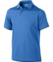 Nike Golf Junior Radar Golf Polo Photo Blue