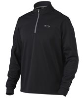 Oakley Solid Fleece 1/4 Zip Sweater Jet Black