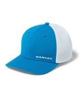 Oakley Mens Silicon Bark Trucker 4.0 Cap Pacific Blue