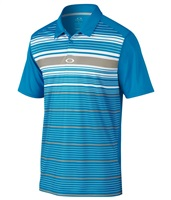 Oakley Mens Legacy Polo Shirt Pacific Blue