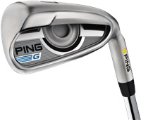 Ping G 5-9 PWUWSW Yellow Dot CFS Graphite Shaft Iron
