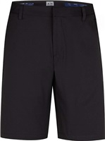 Adidas Junior Puremotion Stretch 3-Stripes Junior Golf Shorts Black/Vista Grey