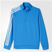 Adidas Junior 3-Stripe Jacket Shock Blue