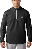 Adidas Mens Climawarm Hybrid Heathered Jacket Black/Stone
