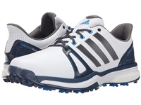 Adidas Adipower Boost 2 Golf Shoes White/Mineral Blue/Shock Blue