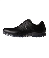 Adidas Adipure Classic Golf Shoes Core Black/Core Black/Silver Metallic