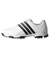Adidas Pure Traxion Golf Shoes White/Core Black/White