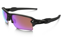Oakley Flak 2.0 XL Prizm Golf Sunglasses Polished Black Frame