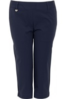 Calvin Klein Golf Ladies Azores Stretch Capri Navy