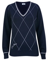 Daily Sports Ladies Cynthia Pullover Navy