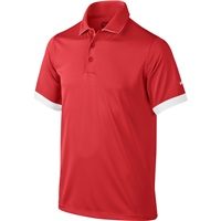 Nike Golf Boys Icon Golf Polo 2016 Light Crimson/White/White