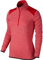 Nike Golf Ladies Lucky Azalea Half Zip 2.0 University Red/Heather