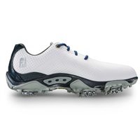 FootJoy Junior DNA Golf Shoes White/Navy