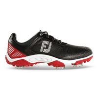 FootJoy Junior HyperFlex Golf Shoe Black/Red