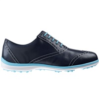 FootJoy Ladies Casual Collection Golf Shoes Navy/Aqua