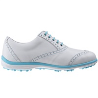 FootJoy Ladies Casual Collection Golf Shoes White/Aqua